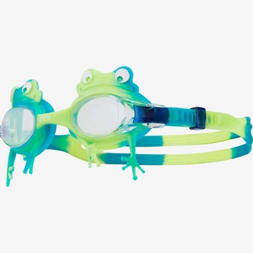 Очки для плавания детские TYR Kids' Swimple Frog