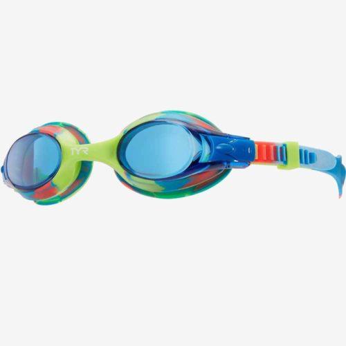 Очки для плавания детские TYR Swimple Tie Dye
