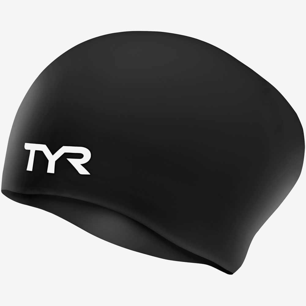 Шапочка для плавания TYR Long Hair Wrinkle-Free Silicone Cap