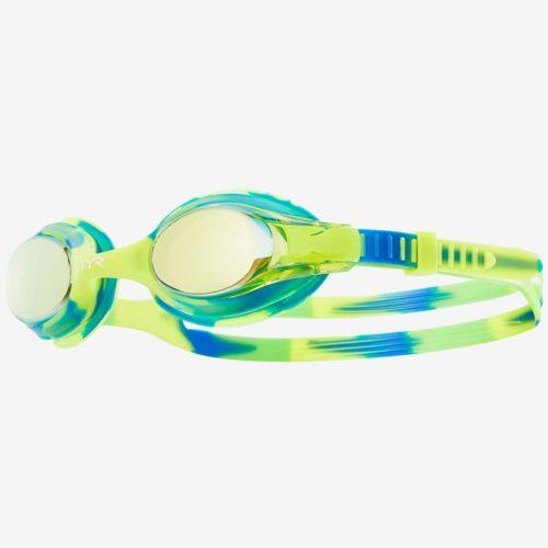 Очки для плавания детские TYR Swimple Tie Dye Mirrored