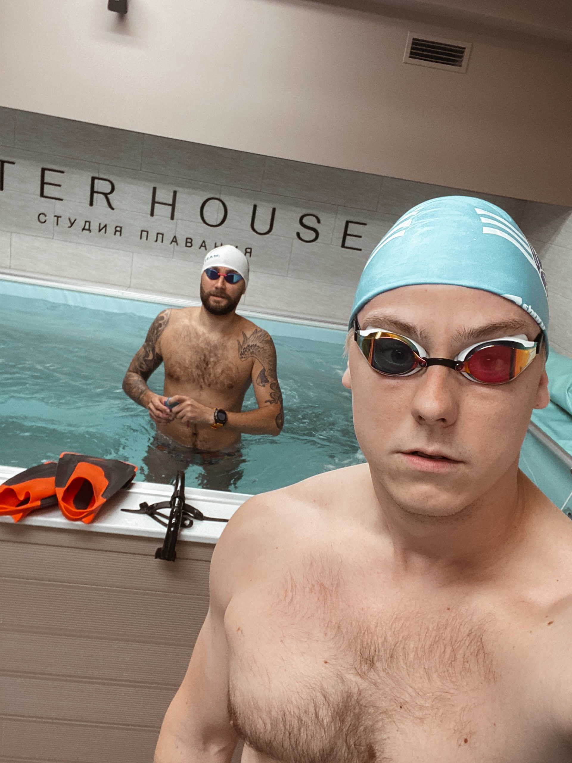Сплит-тренировка с тренером Water House